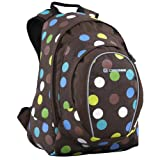 Spice (polka dot) - girls small 24 litre funky daypackby Caribee