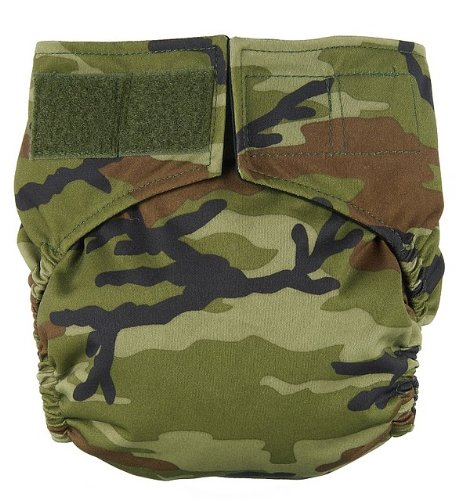 Budget Bottoms Velcro All In Two Diaper System Ai2 (Camo)