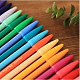 Monami Plus 3000 Office Sign Pen Water Based Ink 24 Color Pen Complete Set! (Tamaño: 24 colors)