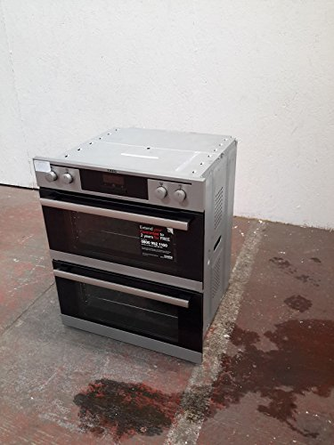 AEG Competence NC4013021M Built Under Double Oven - Stainless Steel - Z 1502584