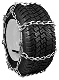 Security Chain Company QG0462 Quik Grip Garden Tractor and Snow Blower Tire Traction Chain - Set of 2