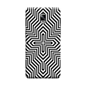 CaseLite Premium Printed Mobile Back Case Cover With Full protection For OnePlus Three (Designer Case)
