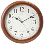 Seiko Wall Clock Quiet Sweep Second H...