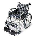 【非課税】 車椅子 軽量 エブリィ 自走式 CA-11SU 介護 介護用品 福祉 コンパクト 折りたたみ (スタンダードチェック)