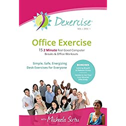 Office Exercise - FIFTEEN 2min Feel Good Desk Excercises & Office Workouts-Vol I, Disc 1