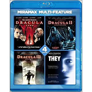 Wes Craven 4 Film Series [Blu-ray]