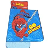 Marvel Spiderman Plush Nap Mat, 46 by 20-Inch