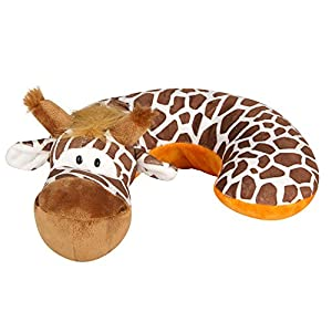 Animal Planet A60113 Nackenstütze Giraffe, braun