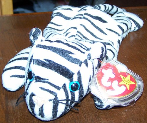 Blizzard the White Tiger - MWMT Ty Beanie Babies - 1