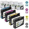 LD Remanufactured Replacements for HP 932XL/933XL Inkjet Cartridges Includes: CN053AN, CN054AN, CN055AN, CN056AN