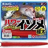 マルキュー(MARUKYU) パワーイソメ(極太) 茶イソメ