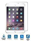 iPad Mini4 強化ガラスフィルム PopSky™採用0.33mm 強化ガラス ラウンドカッティング 硬度9H ラウンドエッジ加工 iPad Mini4 フルスクリーン耐指紋 撥油性 高透過率液晶保護フィルム (iPad Mini4, 強化ガラスフィルム)