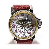 Ritmo Latino(リトモ・ラティーノ) ステラ レディース腕時計 33mm クォーツ SS×革ベルト D3EB67GS [中古]