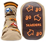 Monster Trucks Skidders Baby Gripper Socks, size 6 months