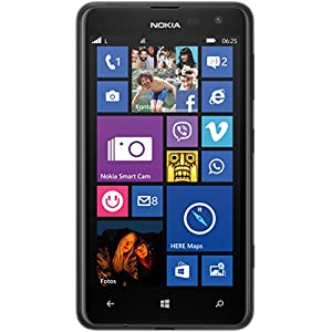 Nokia Lumia 625 (11,9 cm (4,7 Zoll) LCD-IPS-Display, 5 Megapixel Kamera, 8 GB, Windows Phone 8) schwarz