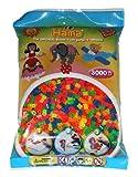 Hama 201-51 - The Original Beads, 3000 Perlen, neon, gemischt von Hama
