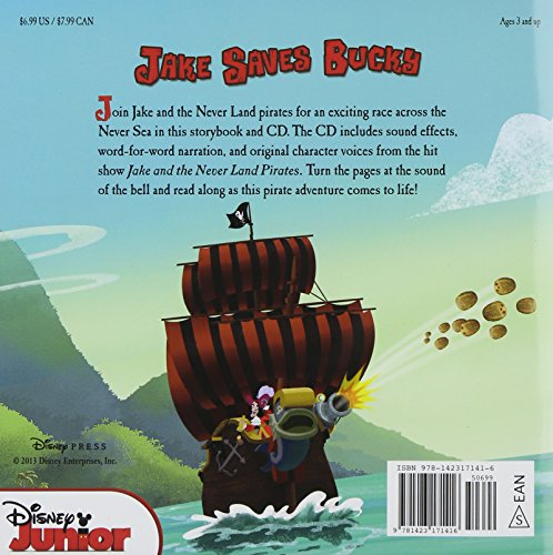 Jake and the Never Land Pirates Read-Along Storybook and CD