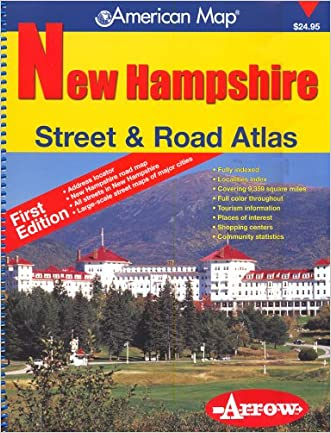 New Hampshire Street & Road Atlas (American Map)