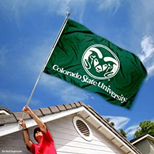 Buy Colorado State Rams CSU University Large College Flag by College Flags and Banners Co.