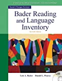 img - for Bader Reading & Language Inventory (7th Edition) by Bader, Lois A. Published by Pearson 7th (seventh) edition (2012) Paperback book / textbook / text book
