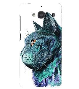 PRINTSHOPPII CAT Back Case Cover for Xiaomi Redmi 2S::Xiaomi Redmi 2::Xiaomi Redmi 2 Prime