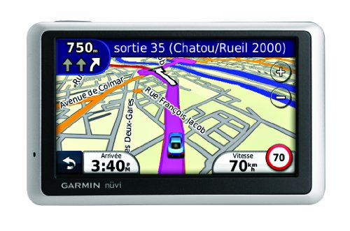 Garmin Nuvi 1340 Widescreen Sat Nav with UK & Western Europe (22 Countries)