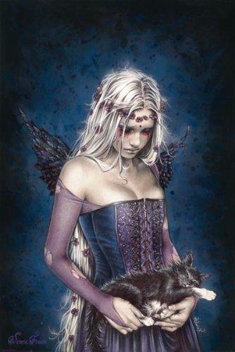 39865 Gothic - Angel Of Death, Victoria Frances Poster 91 x 61 cm