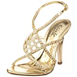 Sizzle by Coloriffics Women's Broadway Sandal,Gold,9 M  US