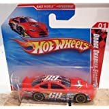 2010 Hot Wheels Dodge Charger Stock Car Race World Speedway 1 Of 4, #167 Red Short Card