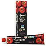 Amore Tomato Paste, 4.5 Ounce Tubes (Pack of 12)