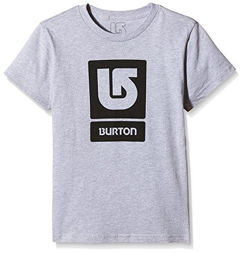 Burton LG Vert FLL-T-shirt maniche corte, Ragazzo, T-Shirt LG Vert FLL Short Sleeve, Grigio erica, L