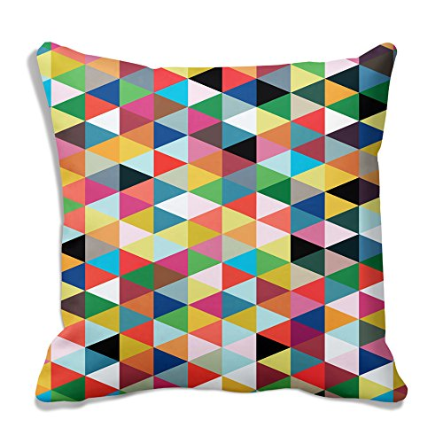 meSleep Geometrical Multi Cushion Cover (16x16)