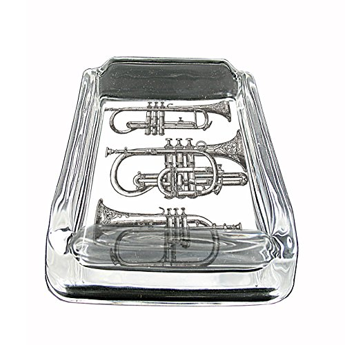 perfection-in-style-glass-square-ashtray-vintage-musical-instruments-design-001