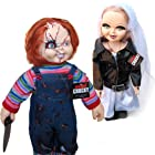 Bride of Chucky Collectors Memorabilia: 26 Chucky & Tiffany Plush Doll Set Bundled With Stands