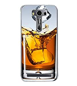 Whisky 2D Hard Polycarbonate Designer Back Case Cover for Asus Zenfone 2 Laser ZE500KL (5 INCHES)