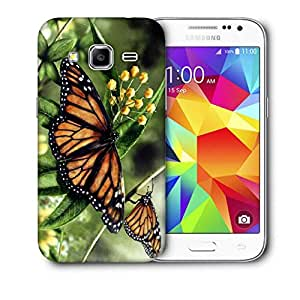 Snoogg Butterfly In A Pair Printed Protective Phone Back Case Cover For Samsung Galaxy Core Plus G3500