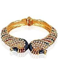 Meenaz Peacock Bangles For Women Gold Plated Bangles For Women Bracelets Set BA119