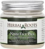 Herbal Roots Neem Face Pack - Anti Acne / Pimple Care And Pimple Remover- 100 gm- MRP- Rs. 549