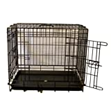 "30"" black dog cage twin door ec30 + bed + travel bowlby Meoww Mania"