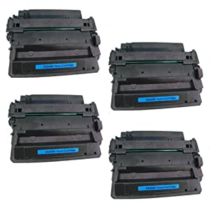 Amsahr Compatible Toner Cartridge Replacement for HP CE255X (Black, 4-Pack)