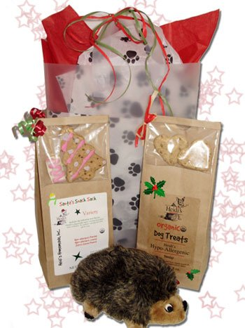 Holiday Dog Gift Bag! - Heidi's Homemade Holiday Dog Treats