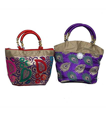 Kuber Industries Handbag in stylish design 2 Pcs Combo, Wedding Gift