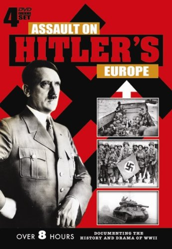 Assault On Hitler'S Europe - 4 Dvd Set! front-347655