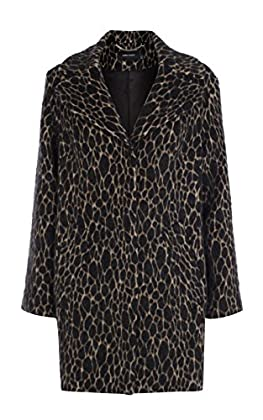 Faux fur textured coat