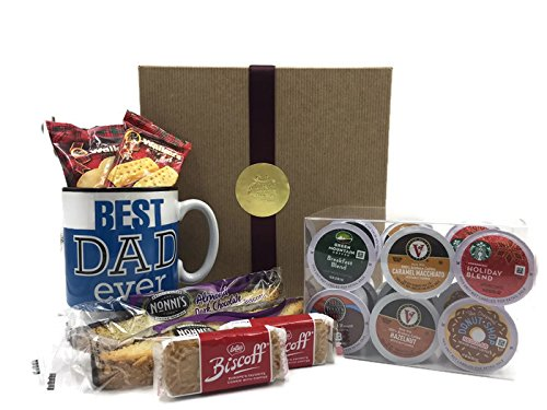 Best Dad Ever Coffee Gift Set (Starbucks Decaf Dark Roast K Cups compare prices)