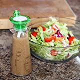 Home-X Salad Dressing Maker and Mixer Bottle