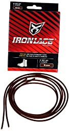 Ironlace Lace (1-Pair), Brown, 45-Inch
