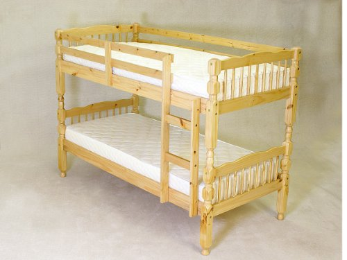 Milano Single 3'0 Ft Pine Bunk Bed (Frame Only)