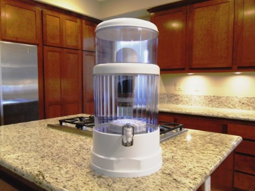 6 Gallon Countertop Water Filter Purifier - Save $$$ - Transform Tap Water to Pure Healthy Mineral Drinking Water