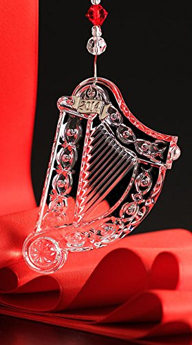 Waterford Crystal 2014 Annual Harp Ornament
